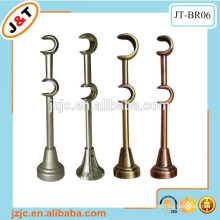 decorative triple metal curtain rod brackets, curtain accessories