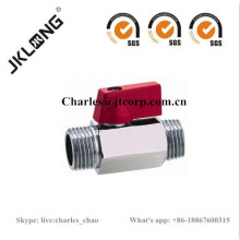 Brass Mini Ball Valve M/M DN8 DN10 DN15