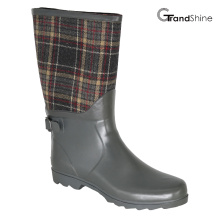 Wellie borracha Rainboot com pulseira decorativa