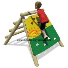 Wooden Playhouse Climber Net Panel Wall Playhouse