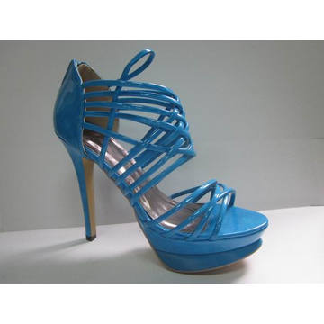 2016 New Fashion High Heel Ladies Summer Sandals (HCY03-050)