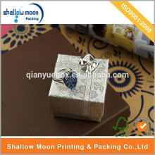 Wholesale customize antique silver jewelry box in gift boxes