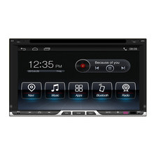 New Android 5.1 Car DVD GPS Universal Double DIN Navigation MP4 Player