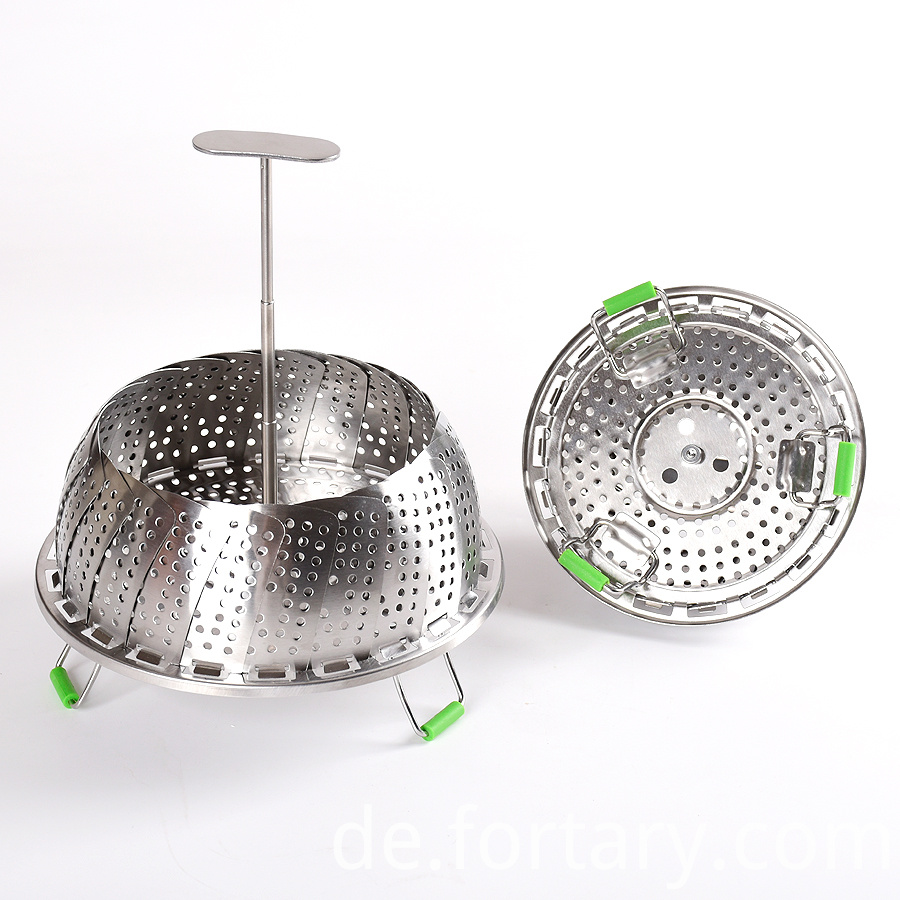 Stainless Steel Vegetable Steamer