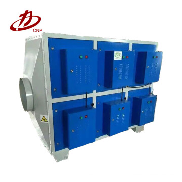 Low temperature plasma technology waste gas purification