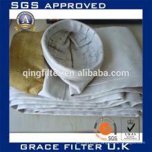 Filter Bag / Air Filtration / Fiberglass / For Cement Industry
