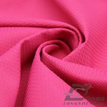 Imperméable à l'eau et à l'extérieur Vêtements de sport en plein air Veste en nylon Ensemble en bambou tissé Jacquard pointu 100% Polyester Pongee Fabric (E070)