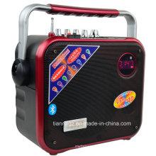 3-дюймовый высокочастотный динамик светодиодный свет этапа диктора с FM, USB-накопителя, SD, пульт дистанционного управления F83