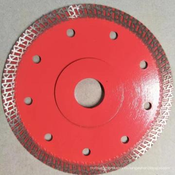 disco abrasivo de la prensa caliente sinterizada cuchillas ultra delgadas del azulejo del diamante