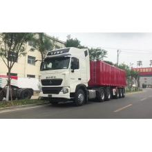 Cargo transport box truck trailer