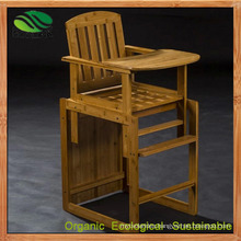 Bamboo Baby High Chair/Dining Chair with Europen Standard (EB-B4102)
