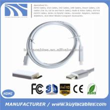 1.8M / 6FT Mini Display Port DP à HDMI Câble Cord Adapter Converter Pour Macbook