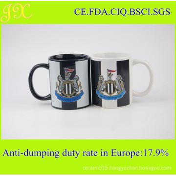 Customized Decal Printing 11oz Ceramic Coffee Mug for Promotion