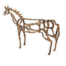 The decoration of the horse crafts