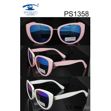 Cat Eye Style PC Sunglasses (1358)
