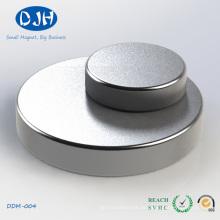 Leistungsfähige Scheibe geformte NdFeB Magneten Alle Größen können besonders angefertigt werden