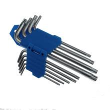 9 PCS Middle Length Double Head Torx Key Set