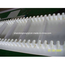 Weißes Gummi-Seitenwand-Förderband