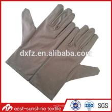 Guantes de limpieza personalizados para joyas y relojes, guantes de limpieza suave