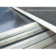 La madera contrachapada hecha frente película utilizó para el tamaño 18m m * 1220 * 2440 de la construcción