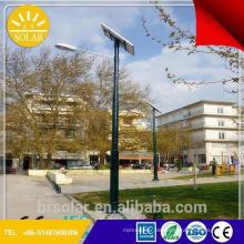 Angebotsformat für Solar-Straßenleuchte mit Photovoltaik-Panels