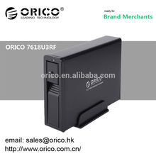 ORICO 7618U3RF Wifi 3.5'' hdd enclosure laptop hard drive enclosure black and silver