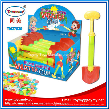 Plastic Toys Water Shooter Beach Toy with Candy for Kids