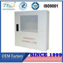 Para Defibtech Lifeline AED Desfibrilador Gabinete de pared de almacenamiento