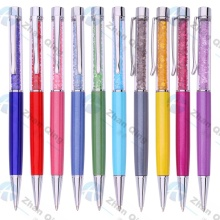 Menarik Design Metal Crystal Ball Pen