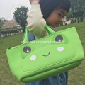 Green Frog Portable Backpack For Baby