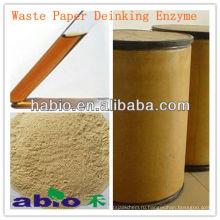 Habio специализированных бумажных отходов образуется фермент - Целлюлаза, Липаза, Пектиназа и др. соединения