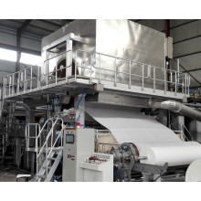 Virgin Wood Pulp Material Toilet Tissue Paper Machine