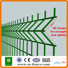 Galvanizado painel de malha de arame soldado / PVC revestido painel de malha de arame soldado / aço inoxidável (fábrica / fabricante)