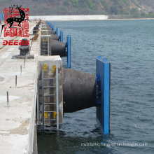 High performance marine dock boat jetty cone rubber fender