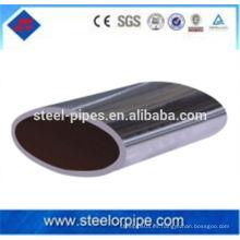 Tubo de acero sin costura de la forma especial de la alta precisión / tubo de acero oval