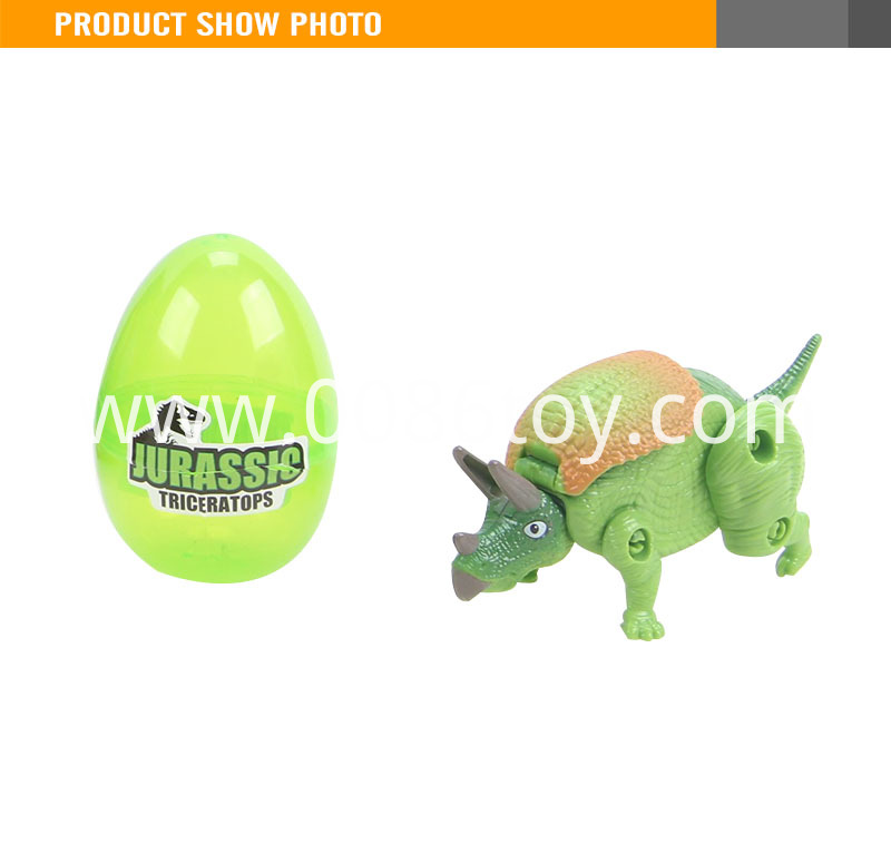 Transform Toy Dinosaur Egg