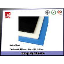 Feuille colorée de polyamide de PA de nylon d'épaisseur de 6-100mm
