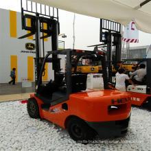 Heli 3 Ton Diesel Forklift Truck Cpcd30 / Anhui Heli Forklift