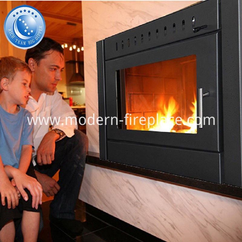 Zero Clearance Wood Burning Ventless Fireplace Heaters Insert