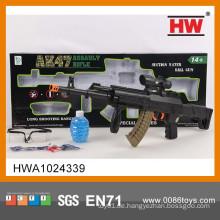 Neuer Entwurf 67CM Normallack-Spielzeug-Scharfschütze-Gewehr mit Infrarot und Gläsern (1200 Kristallbombe)