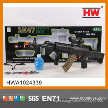 New Design 67CM Solid Color Toy Sniper Gun With Infrared And Glasses (1200 Crystal bomb)
