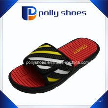 Мужская липучка флип-флоп душ спорта сандалии плоские мужские тапочки