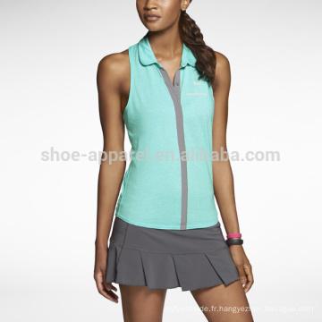 2014 Dri-FIT Polo de tennis sans manches pour femme