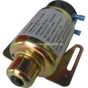 Solenoide electromagnético para MRL Elevator Governors XS1-25