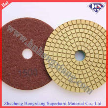 4 '' Wet Flexible Disques Pads Diamond Floor Polishing Pads