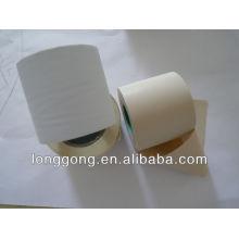 Gelado, branca, embrulhe, ar, conditon, conexão, tubo, PVC, tubo, embrulhando, fita