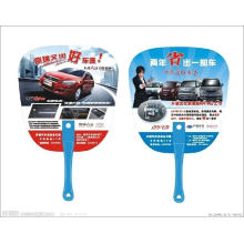 Custom Printed Promotional Round Paper Fan