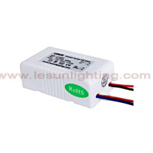 UL / CE / RoHS 3-8X1w Conductor de corriente constante LED / Fuente de alimentación LC9354