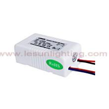 UL / CE / RoHS 3-8X1w Driver de LED de Corrente Constante / Fonte de Alimentação LC9354