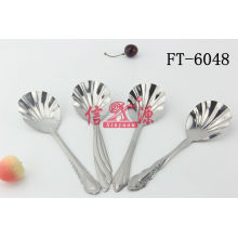 Stainless Steel Shell Spoon (FT-6048)